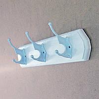 """Вешалка для одежды """"Гатино 3"""" зефир"""