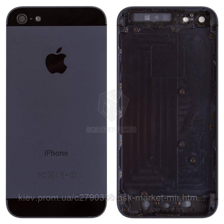 Корпус для Apple iPhone 5 Black