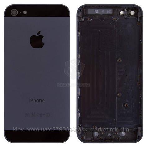 Корпус для Apple iPhone 5 Black, фото 2