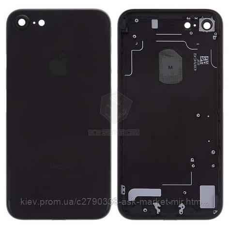 Корпус для Apple iPhone 7 Original Black, фото 2