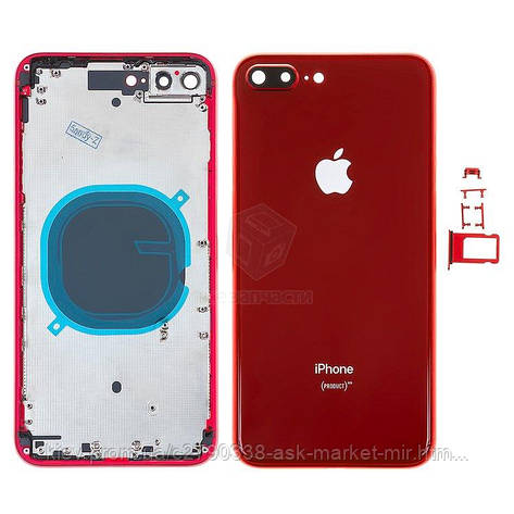 Корпус для Apple iPhone 8 Plus Original Red, фото 2
