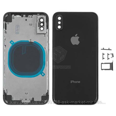 Корпус для Apple iPhone X Original Black, фото 2