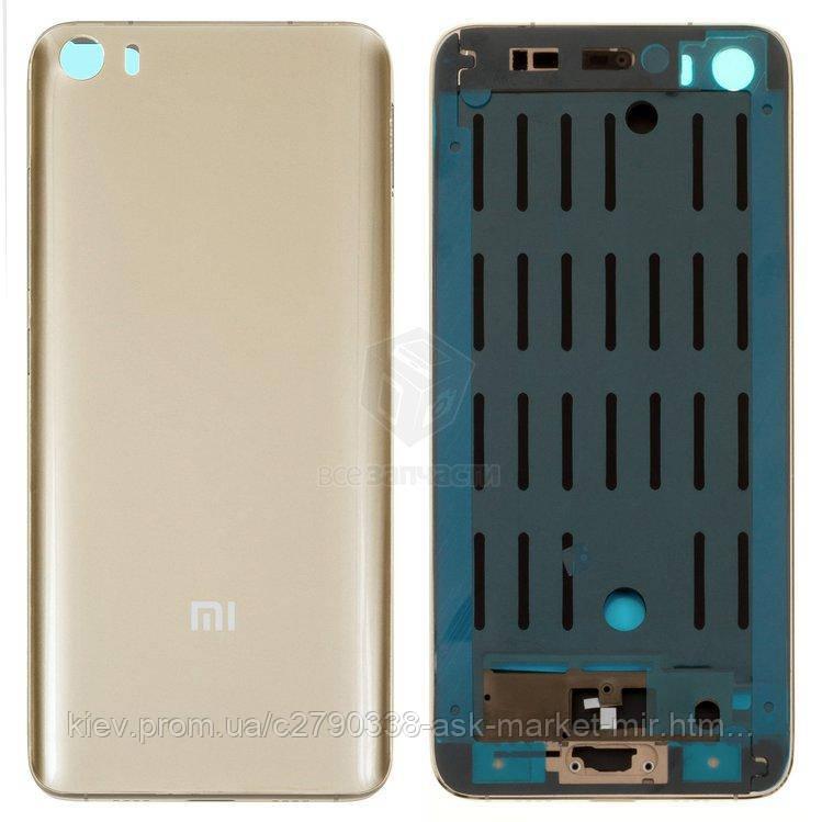 Корпус Xiaomi Mi5 Original Gold