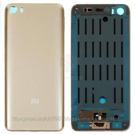 Корпус Xiaomi Mi5 Original Gold, фото 2