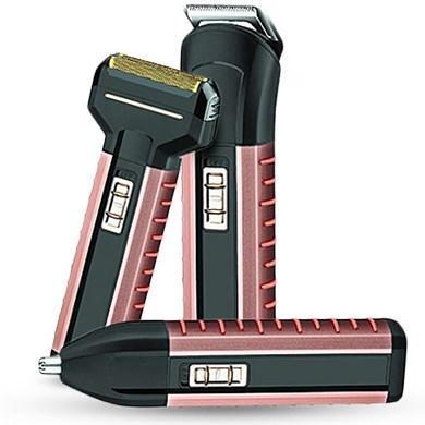Электробритва Gemei GM-789 машинка для стрижки, триммер для носа и ушей (3 в 1) аккумуляторная