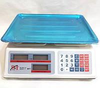Весы торговые DT-52 50 кг электронные со счетчиком цены, фото 1