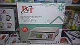 Весы торговые DT-52 50 кг электронные со счетчиком цены, фото 5