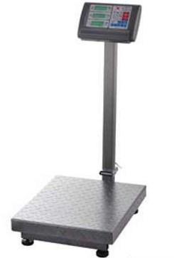 Весы торговые 100 кг электронные напольные со счетчиком цены