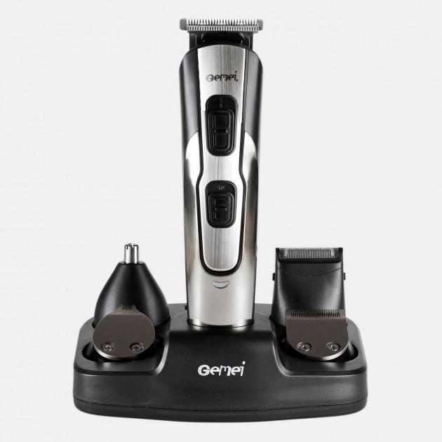 Машинка для стрижки Gemei GM-592 10 в 1 бритва, триммер для бороды носа ушей