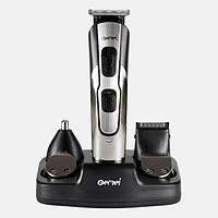 Машинка для стрижки Gemei GM-592 10 в 1 бритва, триммер для бороды носа ушей, фото 1