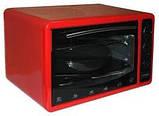Духовка электрическая Asel 40л AF-0123 красный, фото 2