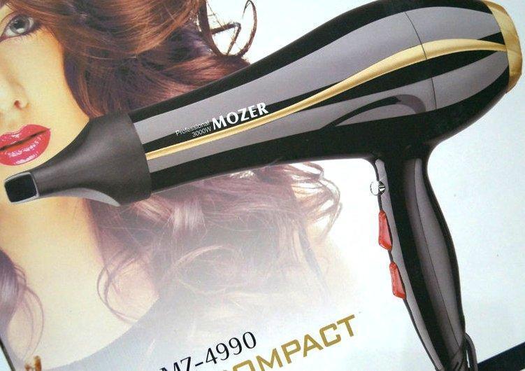 Фен для волос MOZER MZ-4990 профессиональный 3000 W