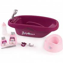 Кукольная ванночка для купания с аксессуарами Baby Nurse Smoby 220340