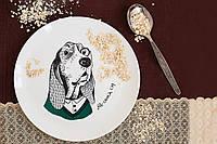 Тарелка Собака - Дворецкий