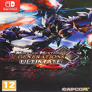 Monster Hunter Generations Ultimate ENG Nintendo Switch