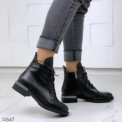 Светло черные ботинки, фото 2