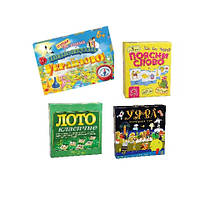 Настільні розвивальні ігри (комплект)