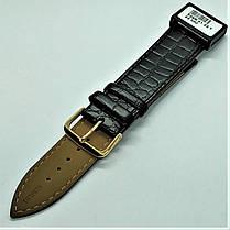 22 мм Кожаный Ремешок для часов CONDOR 526.22.01 Черный Ремешок на часы из Натуральной кожи, фото 3