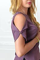 Блузка женская, модель 901/1 цвет лиловая, фото 1