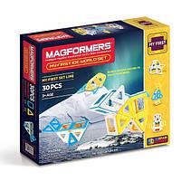 Магнитный конструктор «Мое первое путешествие в снежные края», 30 елементов Magformers (702003)