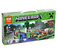 "Конструктор Minecraft Lepin 18012 ""Ферма"", 262 деталей"