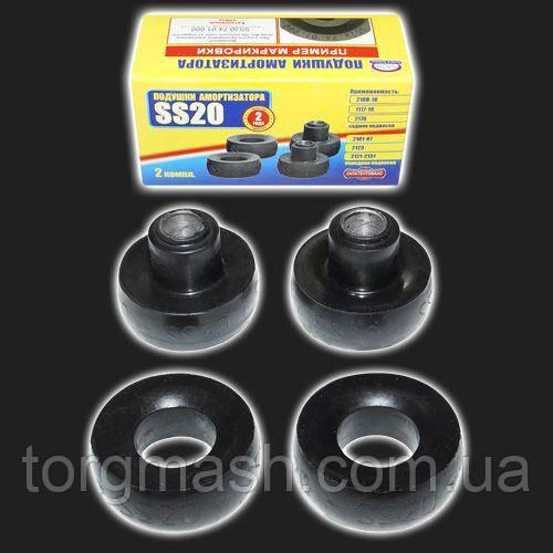Подушка амортизатора задньої підвіски «SS20» ВАЗ 2108-21099, 2110-2112, 2113-2115, Калина, Пріора, Lanos