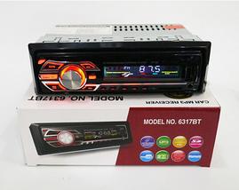 Автомагнитола 1DIN MP3-6317BT RGB/Bluetooth | Автомобильная магнитола | RGB панель + пульт управления, фото 3