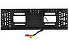 Камера заднего вида рамка 16LED Black с подсветкой в рамке номерного знака, фото 2
