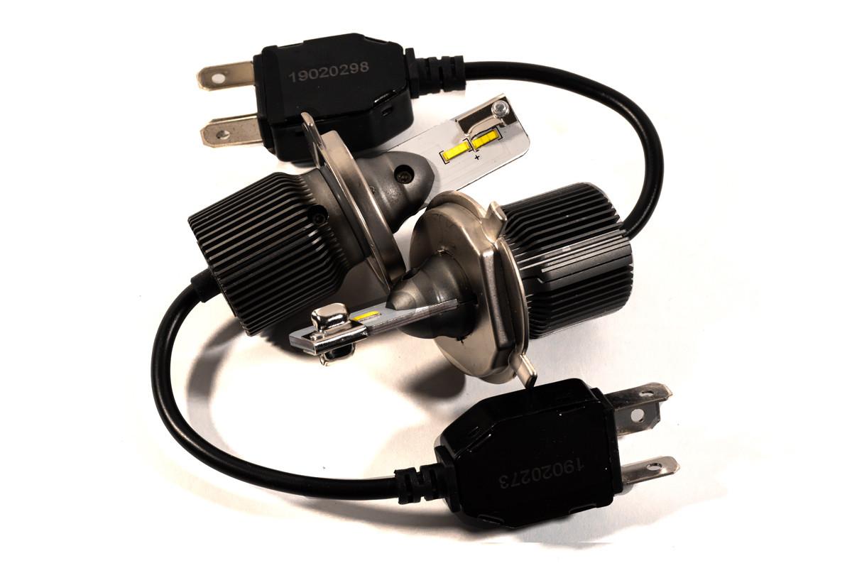 Комплект LED ламп HeadLight F8L H4 (P43t) 30W 12V 3720Lm с пассивным охлаждением