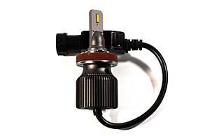 Комплект LED ламп HeadLight F8L H11 (PGJ19-2) 30W 12V 3720Lm с пассивным охлаждением, фото 2