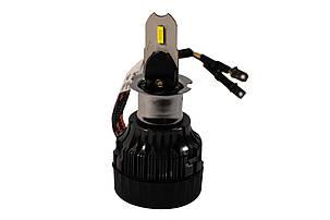 Комплект LED ламп HeadLight Mi7 H3 (Pk22s) 55W 12V 4000Lm с активным охлаждением, фото 2