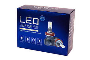 Комплект LED ламп HeadLight F1X H4 (P43t) 52W 12V 8400Lm с активным охлаждением (увеличенная светоотдача), фото 2