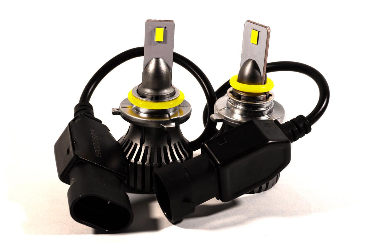 Комплект LED ламп HeadLight F1X HB4 (P22d) 52W 12V 8400Lm с активным охлаждением (увеличенная светоотдача)