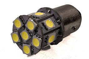 Светодиодная лампа AllLight T25 13 диодов 5050 1156 BA15S 12V