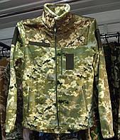 Флисовая кофта ВСУ армейская (ММ-14). Военная кофта камуфляж. Новая, фото 1
