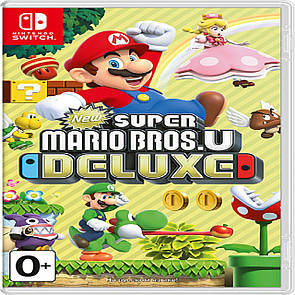 New Super Mario Bros. U Deluxe RUS Nintendo Switch