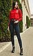 Женские молодежные лосины , леггинсы , демисезонные, турец.трикотаж, р.42,44,46,48,50  (1815), фото 3