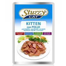 Влажный корм для котят Штузи Stuzzy Kitten с курицей 100 г