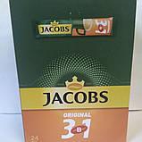 """Кава """"Jacobs"""" 3в1 Original 12,5г (уп. 24), фото 2"""