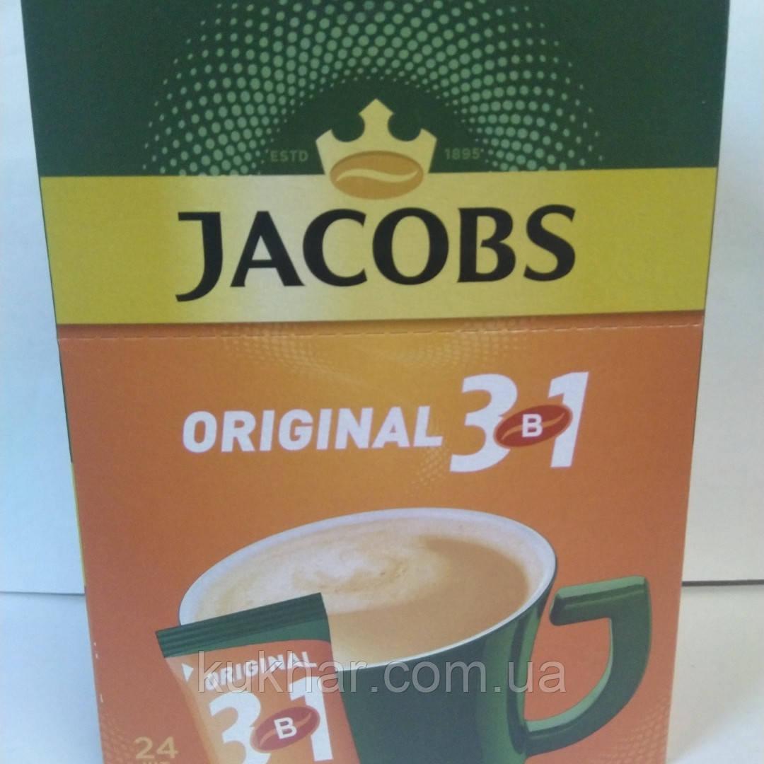 """Кава """"Jacobs"""" 3в1 Original 12,5г (уп. 24)"""