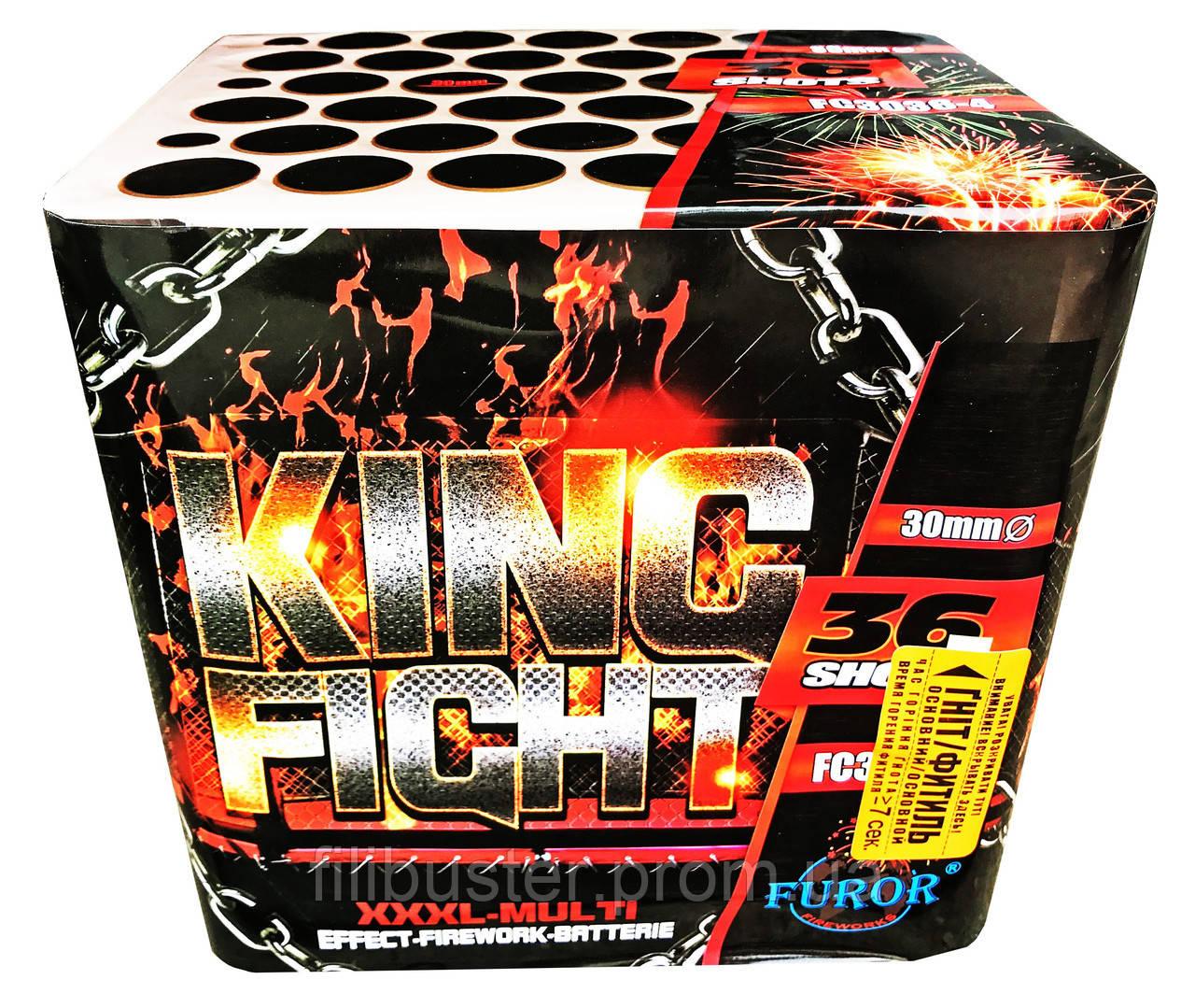 Салют Фурор King Fight на 36 выстрелов FC3036-4