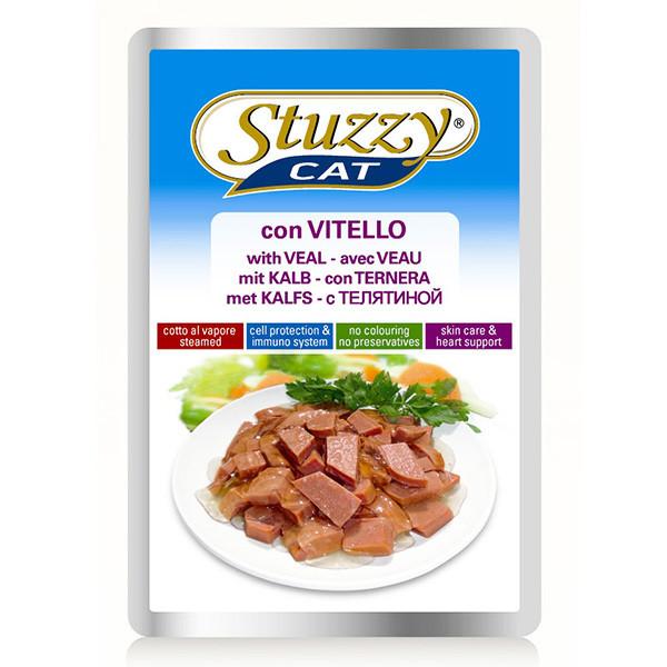Влажный корм для кошек Штузи Stuzzy Veal с телятиной 100 г