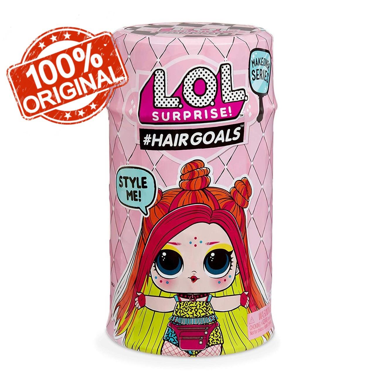 Набор MGA LOL Surprise S5 W2 Hairgoals Makeover Модное перевоплощение (556220)