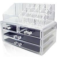 Настольный органайзер для хранения косметики Сosmetics Storage Box