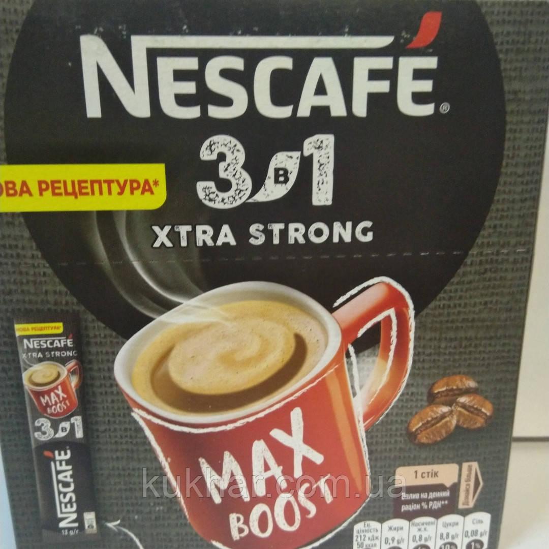 """Напій """"Nescafe"""" 3в1 Стронг 13г (уп.20шт)"""