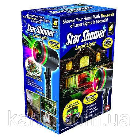 Лазерний проектор Star Shower, проектор зоряне небо