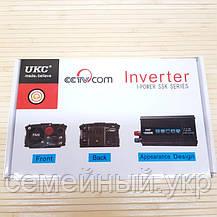 Преобразователь Инвертор 12v-220v UKC SSK 1200W, фото 2