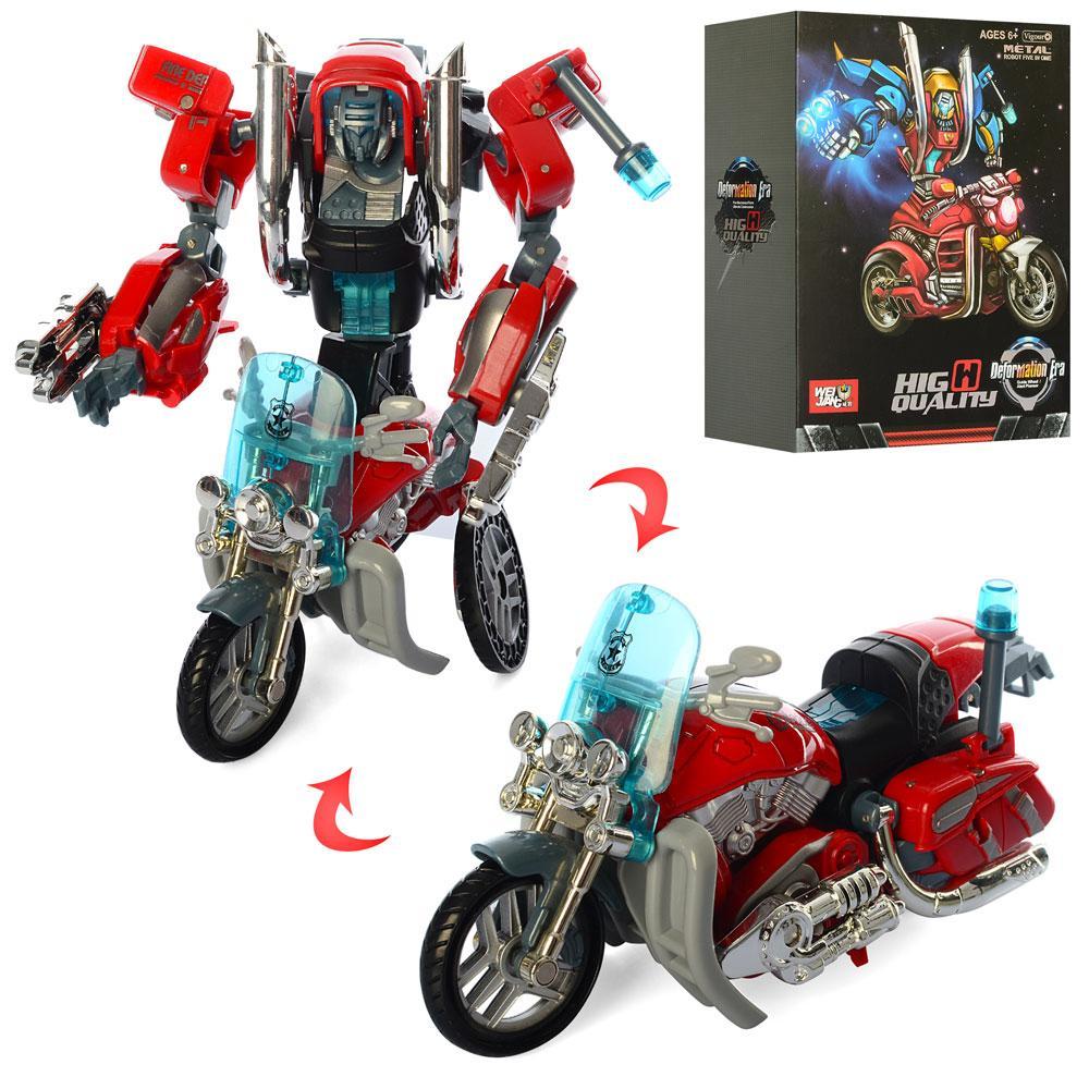 Робот Трансформер - мотоцикл (17 см)
