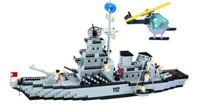 Конструктор Brick 208885 Корабль 112