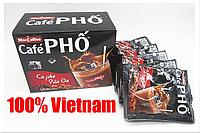 Вьетнамский натуральный растворимый кофе Cafe PHO 3в1, 10*24гр, Maccoffee Cafe PHO, цена за 240 г.(10 стиков)!
